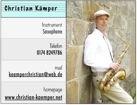 Steckbrief C.Kämper